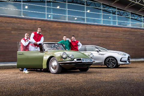 ARSENAL STARS PAY HOMAGE TO 60 YEARS OF DS img1