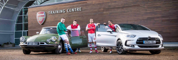 ARSENAL STARS PAY HOMAGE TO 60 YEARS OF DS img7