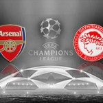 Arsenal v Olympiakos thumb